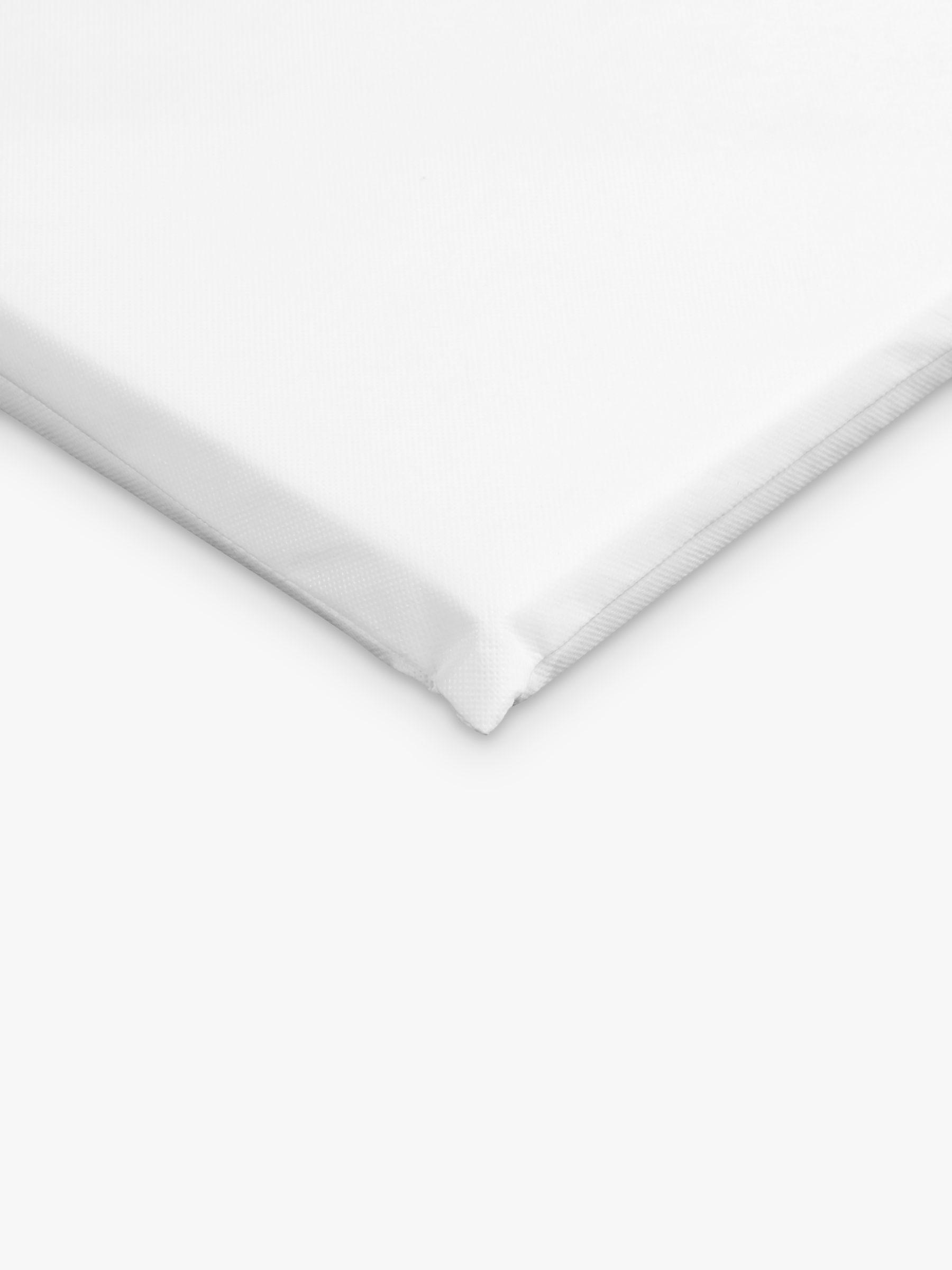 John Lewis & Partners Basic Foam Crib Mattress, 89 x 38cm