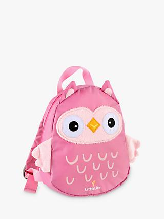 LittleLife Toddler Backpack, Owl