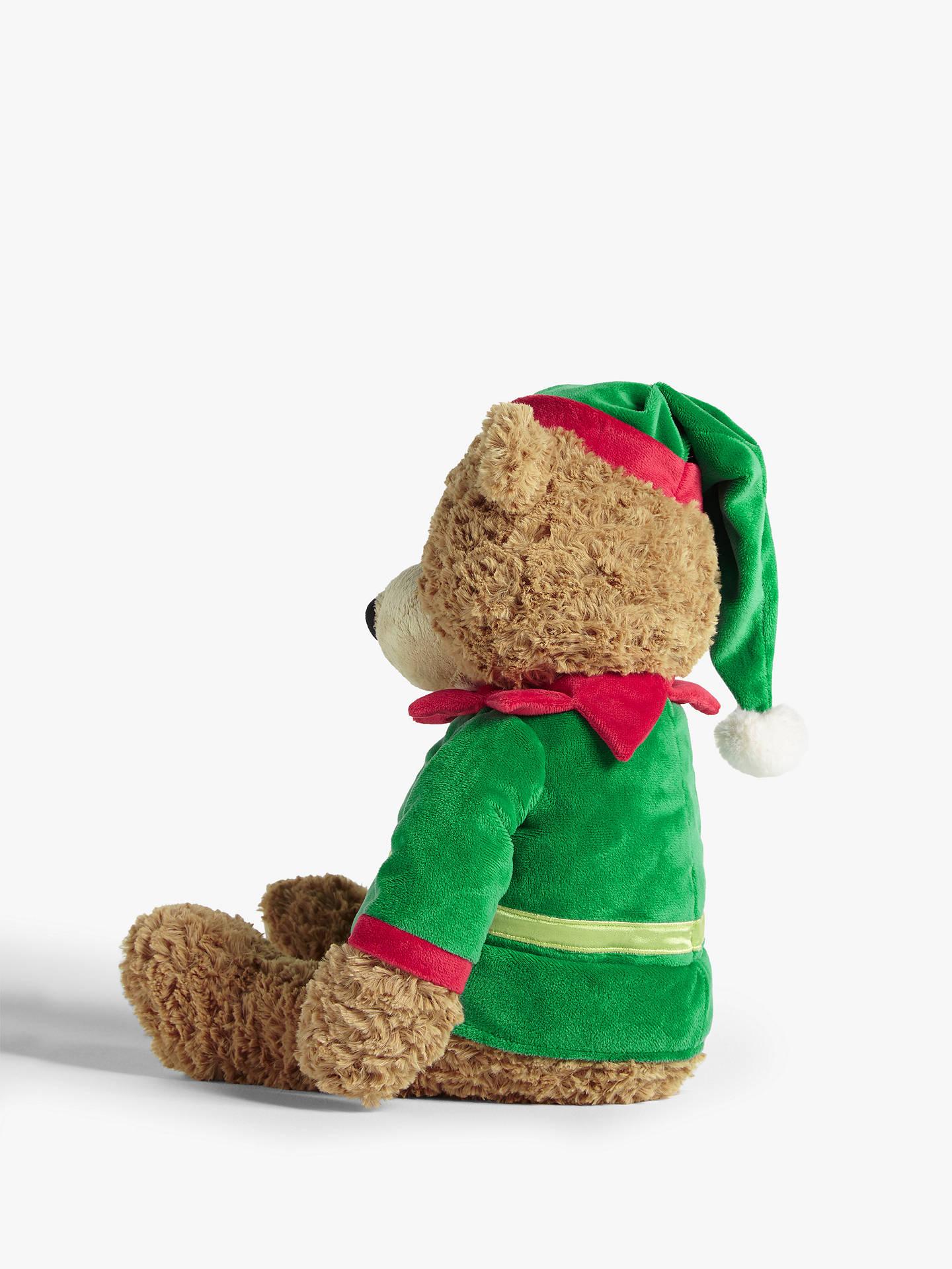 Christmas Bear.John Lewis Partners Abc Christmas 2019 Lewis Bear Elf