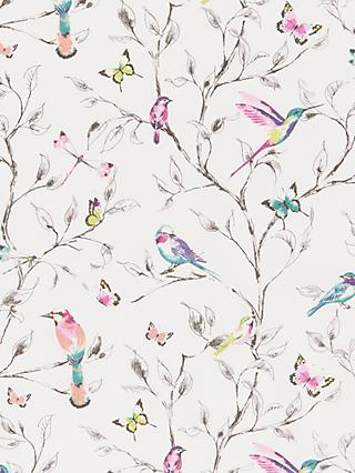 John Lewis & Partners Hummingbird PVC Tablecloth Fabric