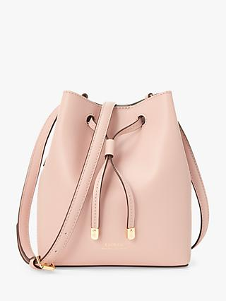 Lauren Ralph Lauren Dryden Debby Leather Bucket Bag