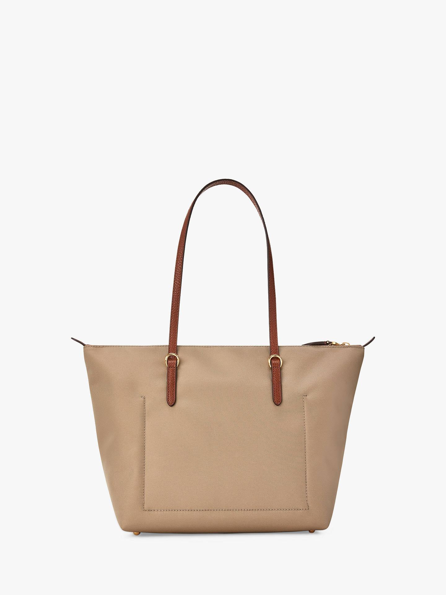 34927fe8d ... Buy Lauren Ralph Lauren Chadwick Keaton 26 Shopper Bag, Clay Online at  johnlewis.com ...