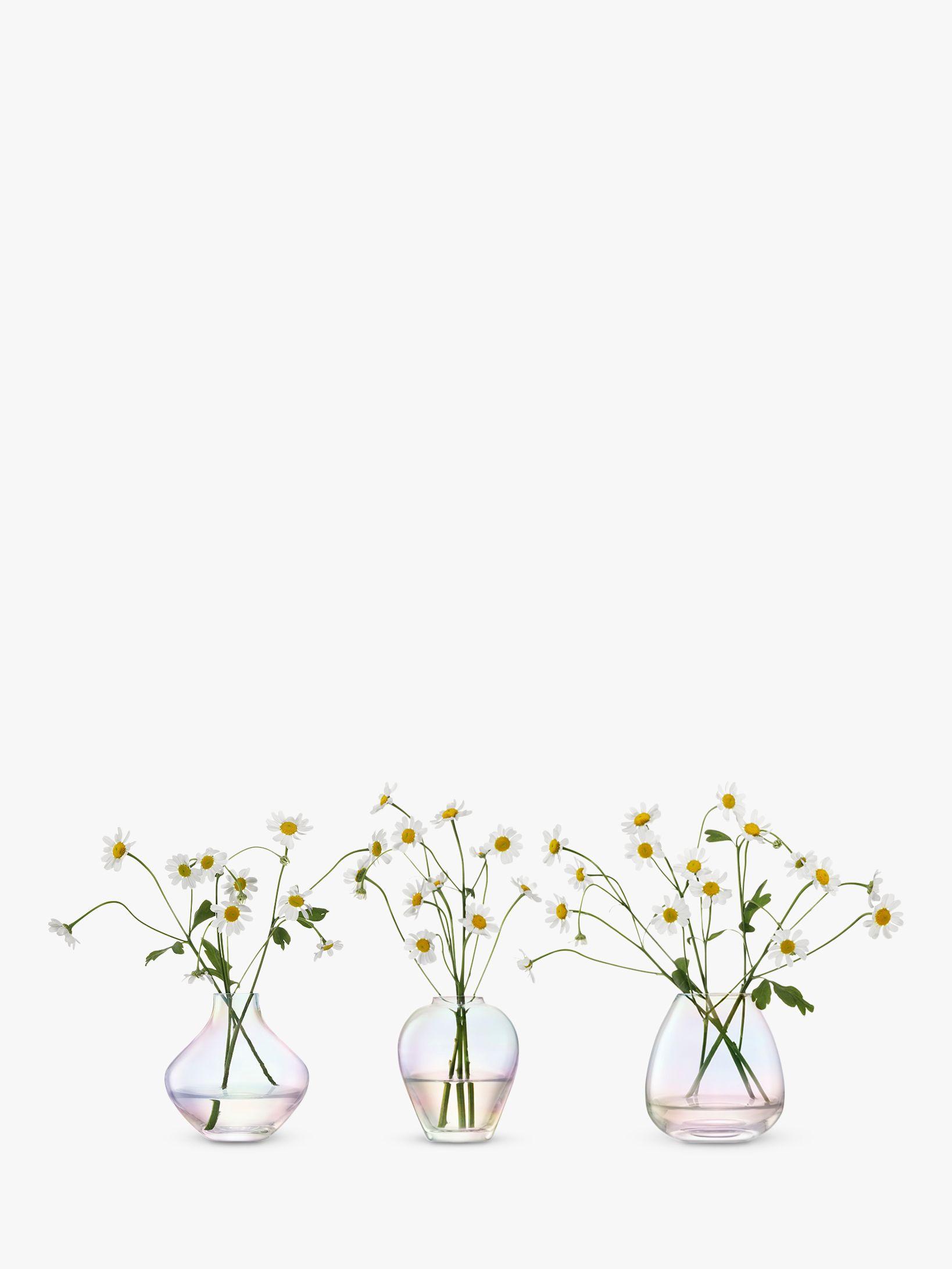 LSA International LSA International Mother of Pearl Trio of Vases