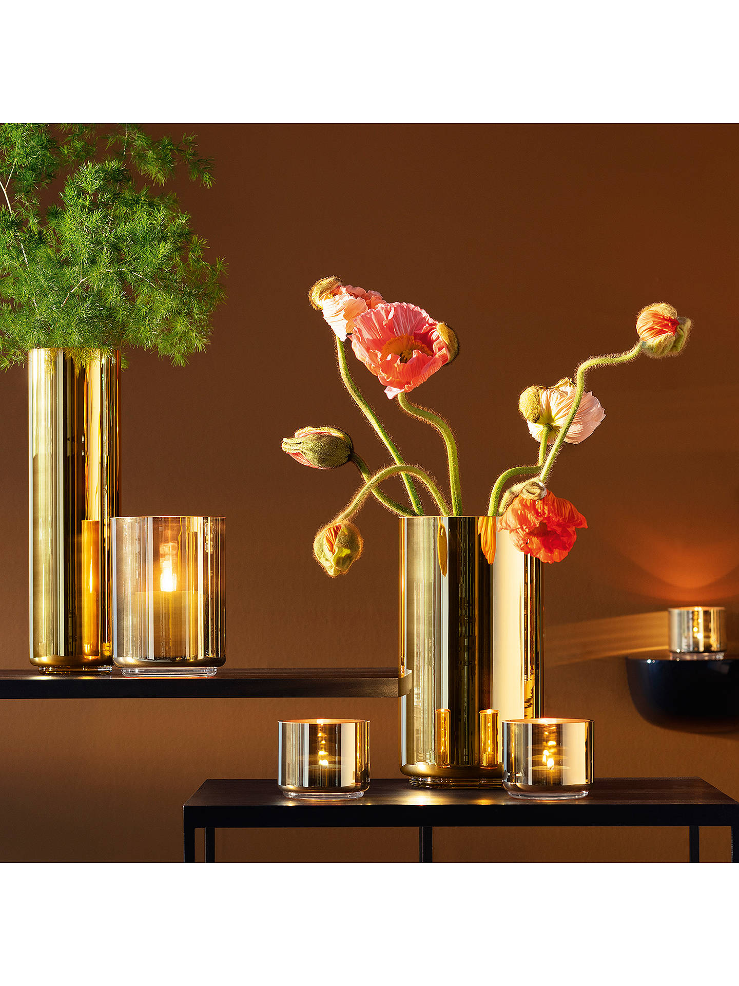 Buy LSA International Karat Tealight Holder Online at johnlewis.com