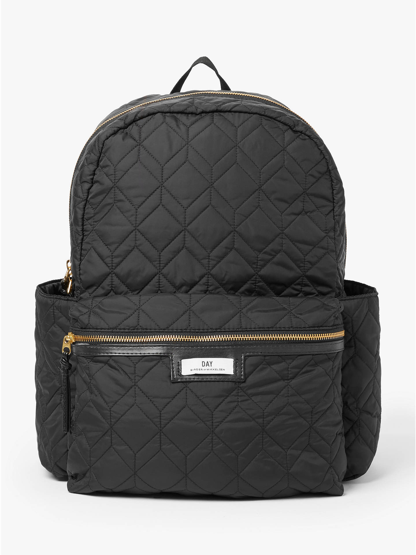 0102e96b4 DAY et Gweneth Hexagonal Quilted Backpack, Black