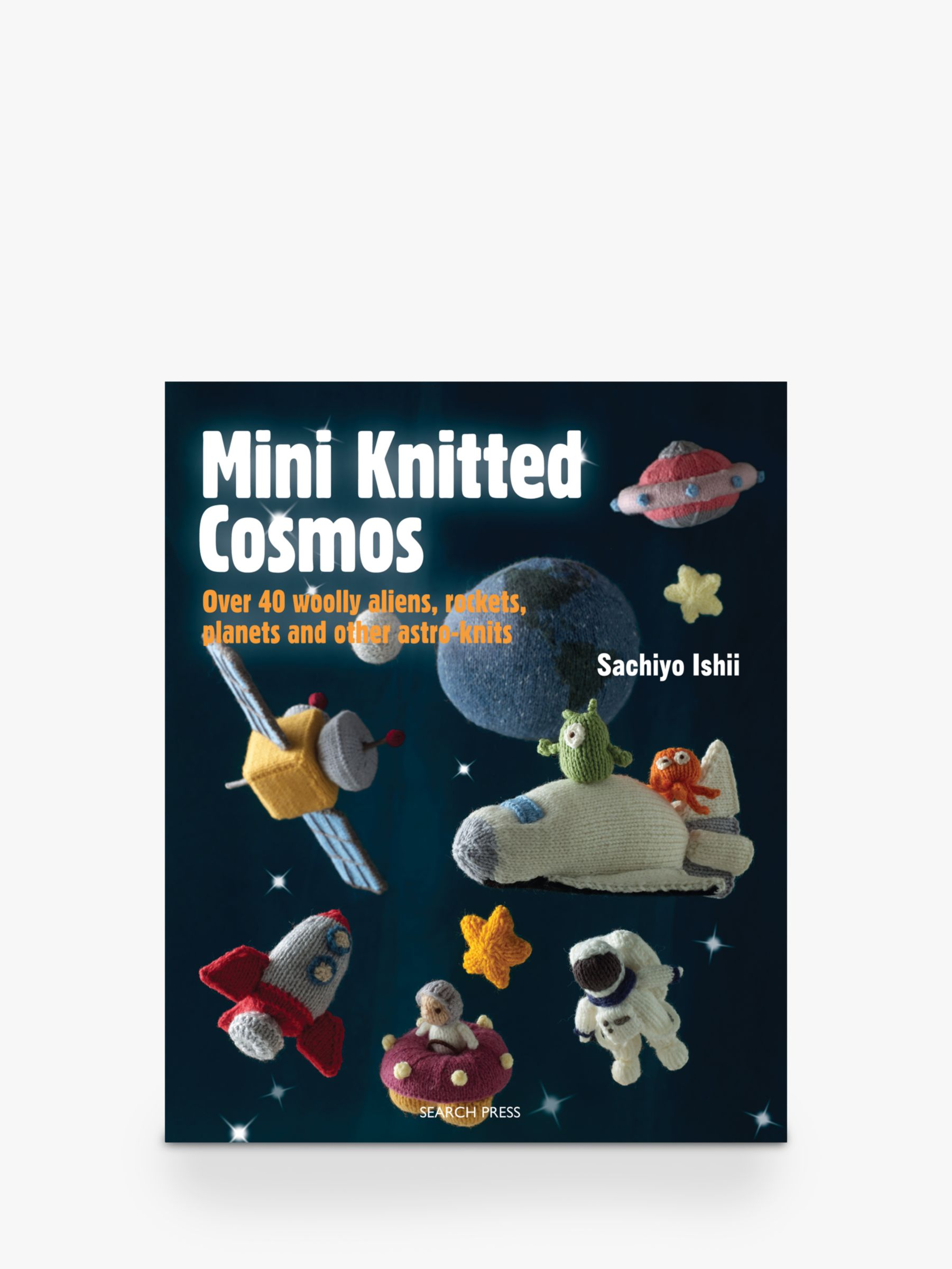 Search Press Mini Knitted Cosmos and Mini Knitted Toys Book Bundle