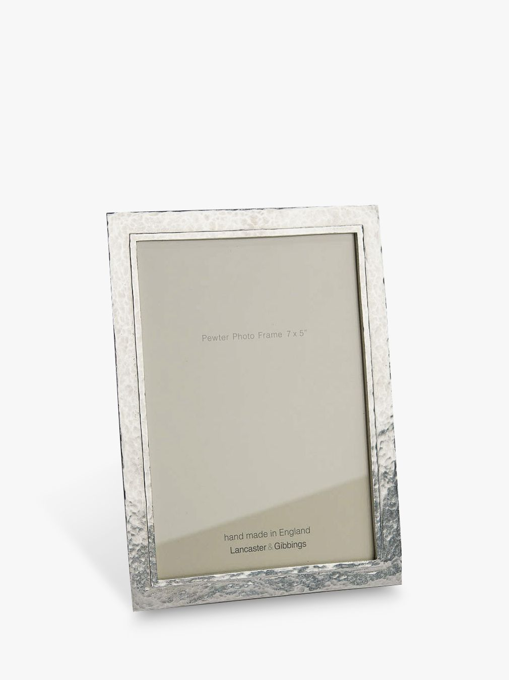 Lancaster and Gibbings Lancaster and Gibbings Thurlestone Photo Frame, Pewter