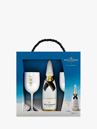 Moet & Chandon Ice Imperial Gift Set, 75cl
