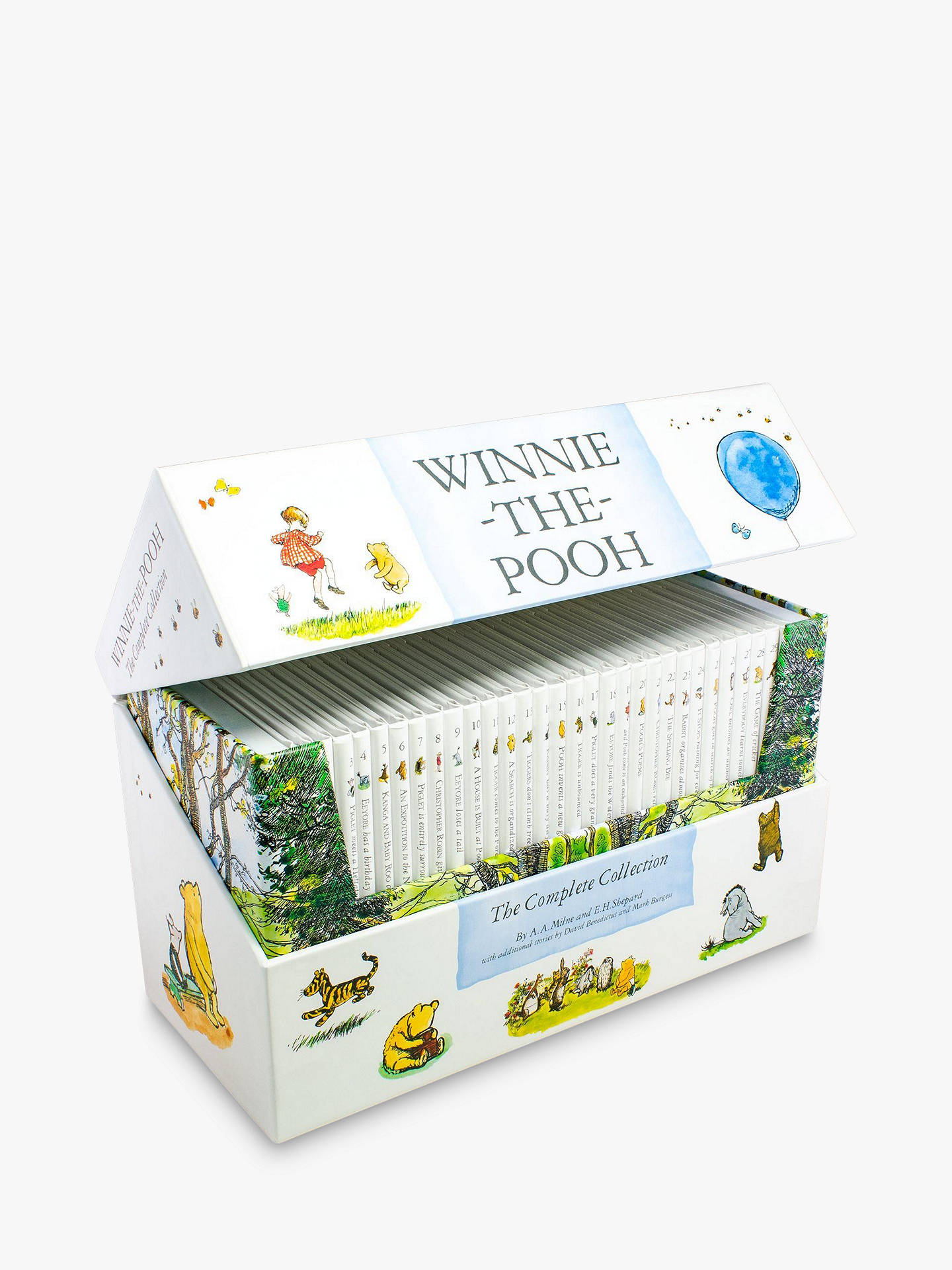 Winnie The Pooh The Complete Collection Children S Books