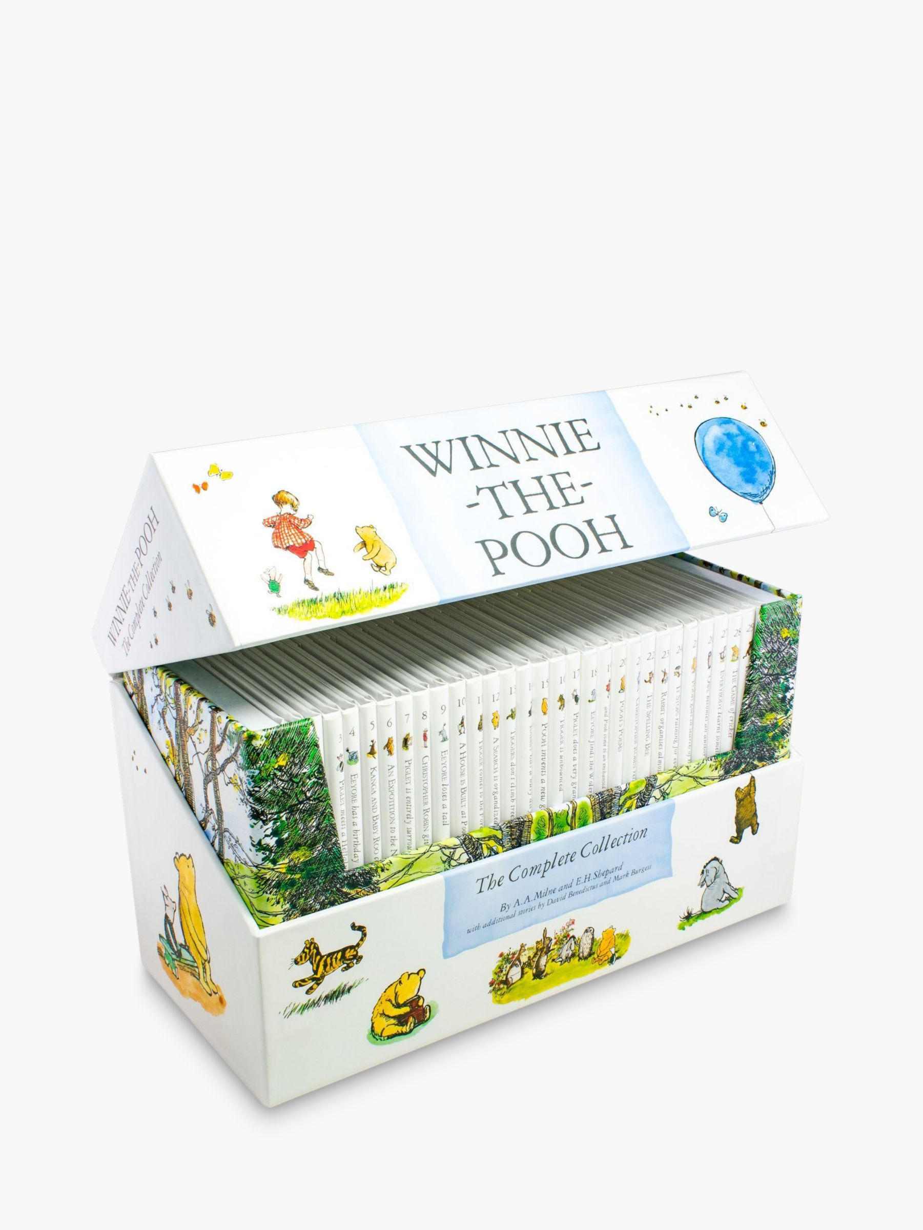 Winnie the pooh Winnie The Pooh The Complete Collection Children's Books