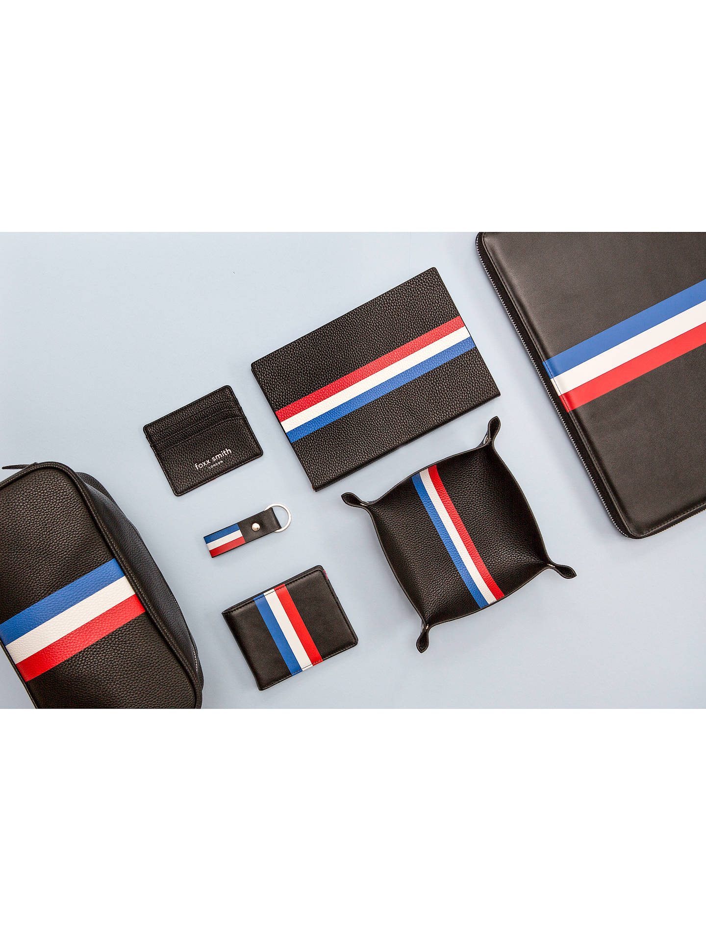 Buy Foxx Smith London Luca Tricolour Wash Bag Online at johnlewis.com