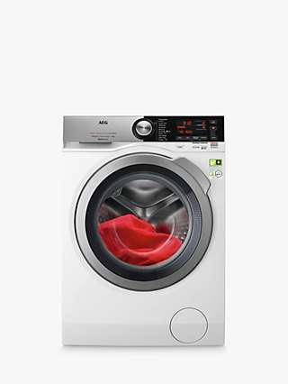 AEG 8000 L8FEC966CA Freestanding Washing Machine, 9kg Load, 1600rpm Spin, White
