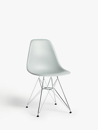 Vitra Eames DSR Side Chair, Chrome Leg