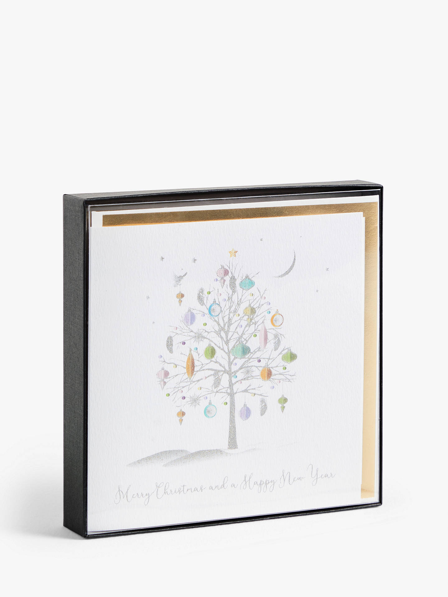 Buy Five Dollar Shake Silver Tree Christmas Cards with Ecoglitter, Pack of 6 Online at johnlewis.com