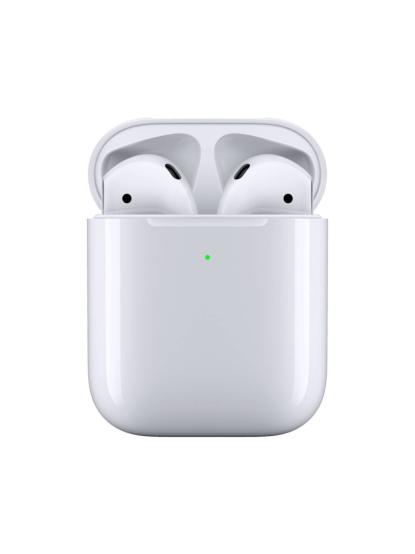 newest bb0da 93470 2019 Apple AirPods with Wireless Charging Case