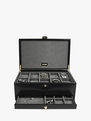 bebcdde2233 Dulwich Leather 10 Piece Watch Box