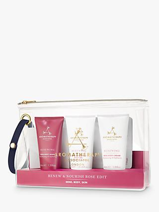 Aromatherapy Associates Renew & Nourish Rose Edit Gift Set