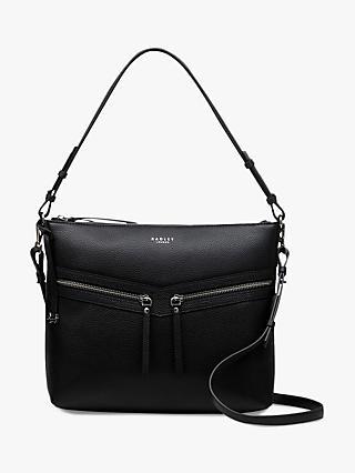 f6b414304215 Radley Smith Street Leather Medium Shoulder Bag