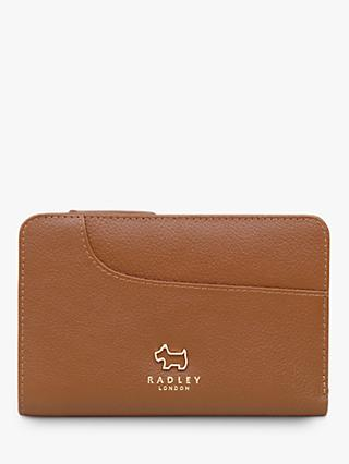 Radley Pockets Leather Medium Zip Top Purse