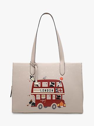98631aa79c39 Radley Party Bus Leather Shoulder Bag