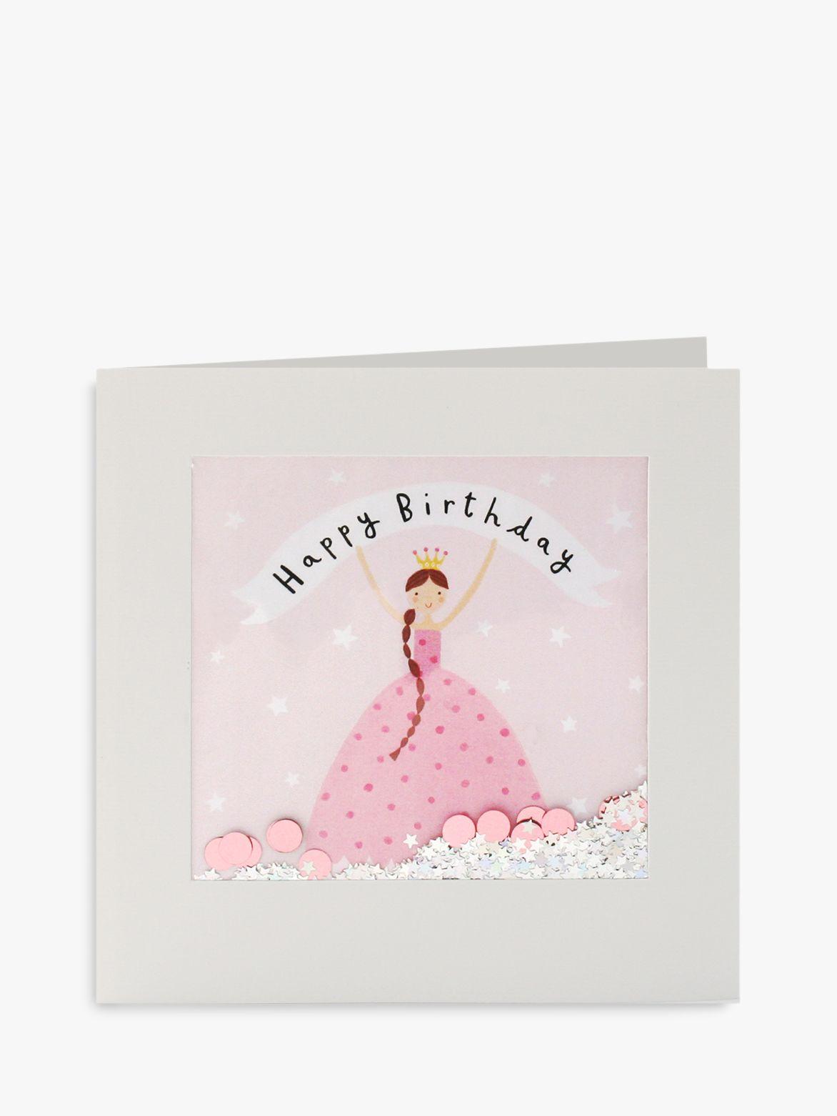 James Ellis Stevens James Ellis Stevens Princess Shakies Birthday Card