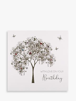 Five Dollar Shake Trees & Butterflies Birthday Card