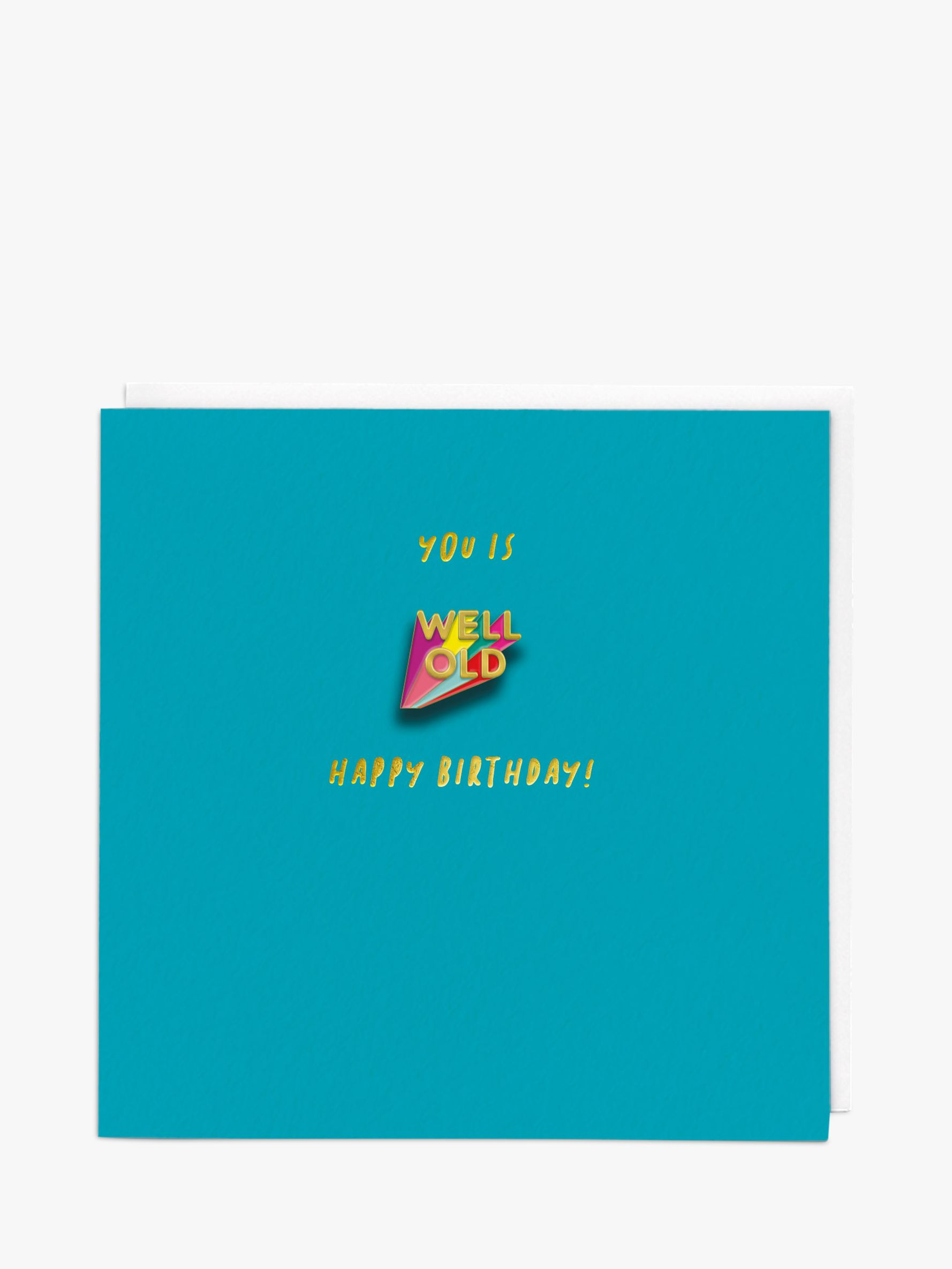 Redback Cards Redback Cards Well Old Birthday Card
