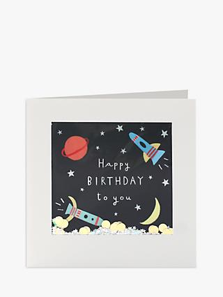 James Ellis Stevens Space Shakies Birthday Card