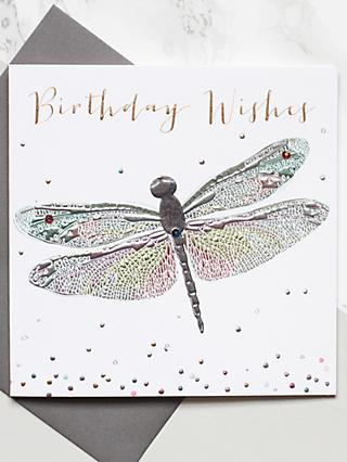 Belly Button Designs Dragonfly Birthday Card