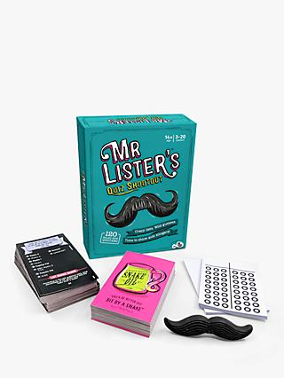 Big Potato Mister Lister Mini Quiz Game