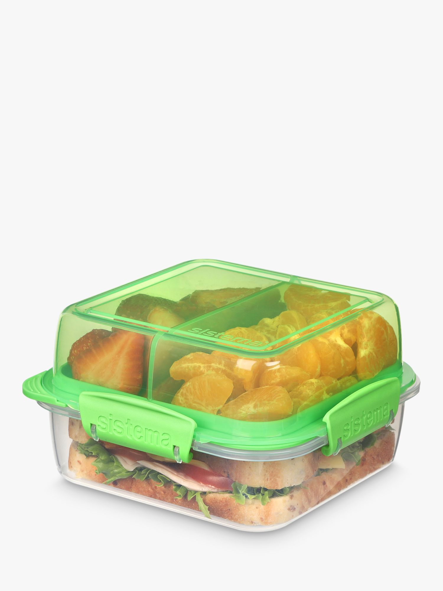 Sistema Sistema Stackable Lunch Box, 1.2L, Assorted