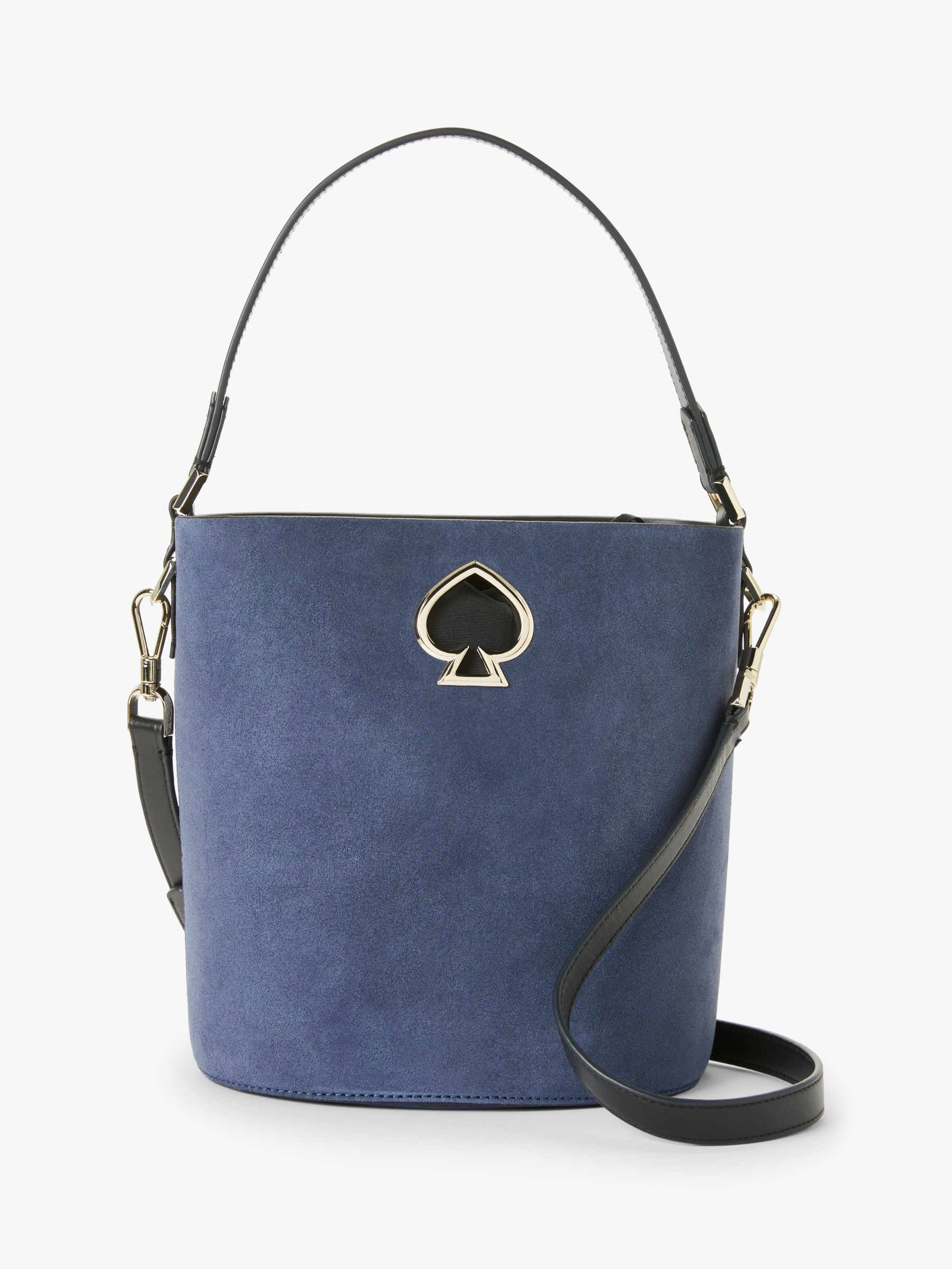 6dbada538f1d kate spade new york Suzy Suede Leather Bucket Bag at John Lewis & Partners