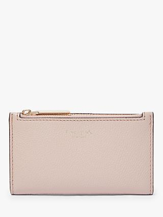 kate spade new york Margaux Leather Slim Bi-Fold Purse, Pale Vellum