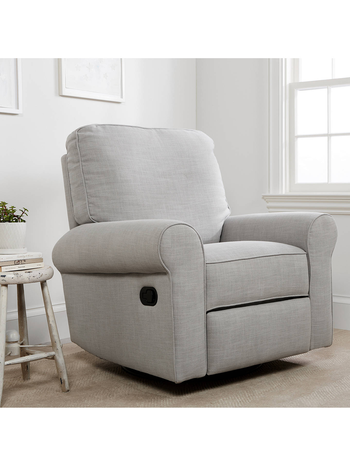 Astonishing Pottery Barn Kids Comfort Swivel Reclining Glider Nursing Chair Grey Pabps2019 Chair Design Images Pabps2019Com