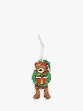 John Lewis & Partners ABC Lewis Bear Gift Tags, Pack of 12