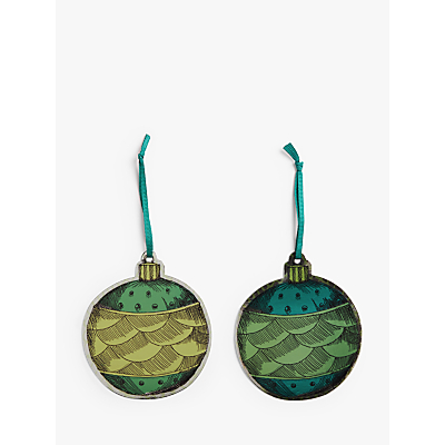 Product photo of John lewis partners garden retreat bauble gift tags pack of 6