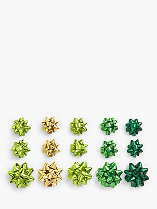 John Lewis & Partners Garden Retreat Gift Bows, Pack of 15