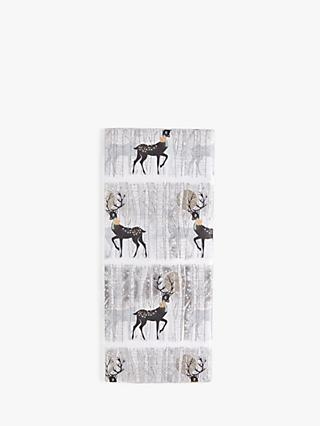 Five Dollar Shake Snowscape Reindeer Tissue Paper, 4 Sheets