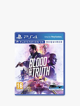 Blood & Truth, PS4