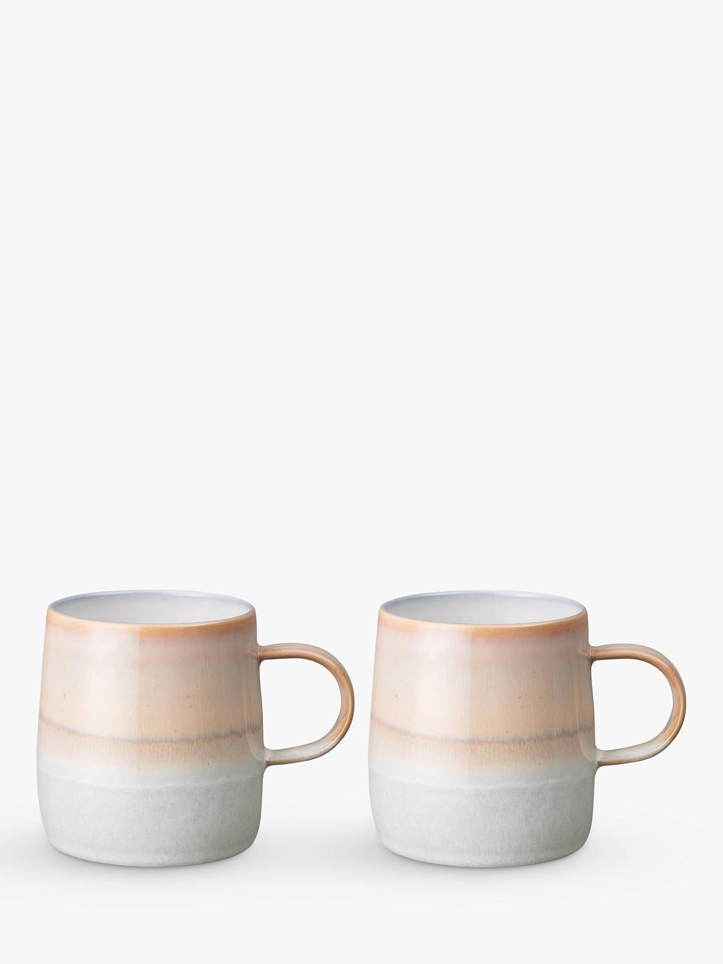 Denby Quartz Rose Mugs, Set Of 2, 350ml, Pink by Denby