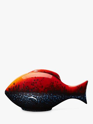 Poole Pottery Flare Single Fish Ornament