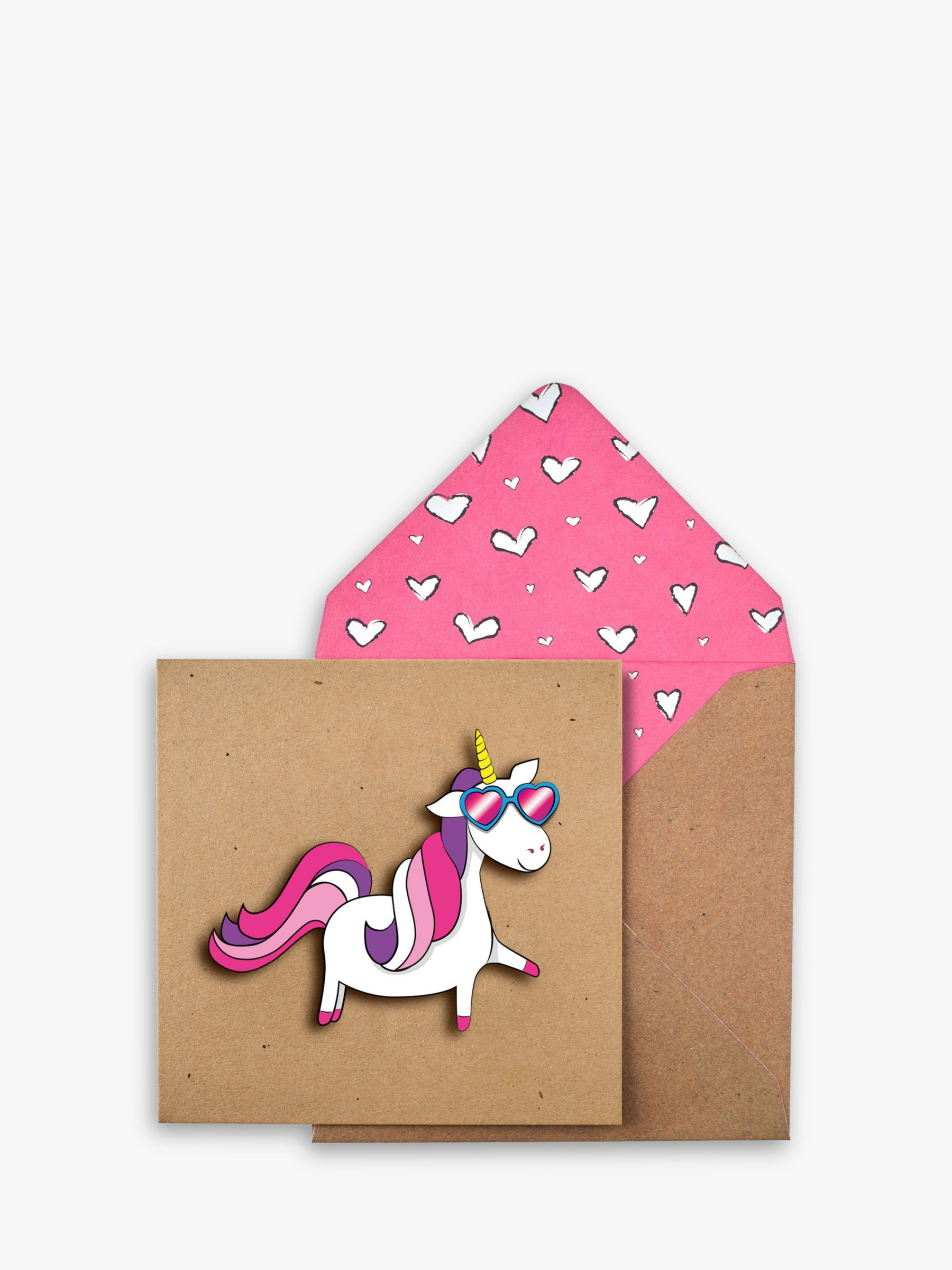 Tache Crafts Tache Crafts Unicorn Birthday Card