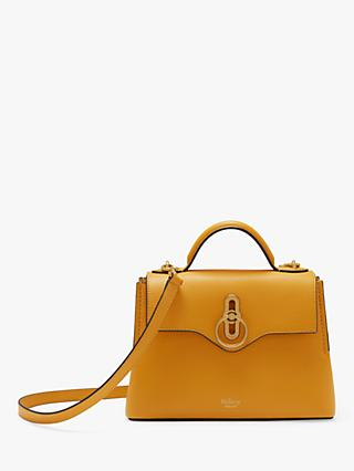 Mulberry Mini Seaton Classic Grain Leather Shoulder Bag