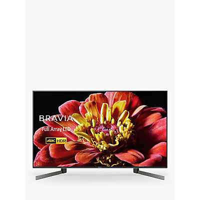 Image of Sony Bravia KD49XG9005 (2019) LED HDR 4K Ultra HD Smart Android TV, 49 with Freeview HD & Youview, Black