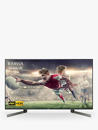 "Sony Bravia KD49XG9005 (2019) LED HDR 4K Ultra HD Smart Android TV, 49"" with Freeview HD & Youview, Black"