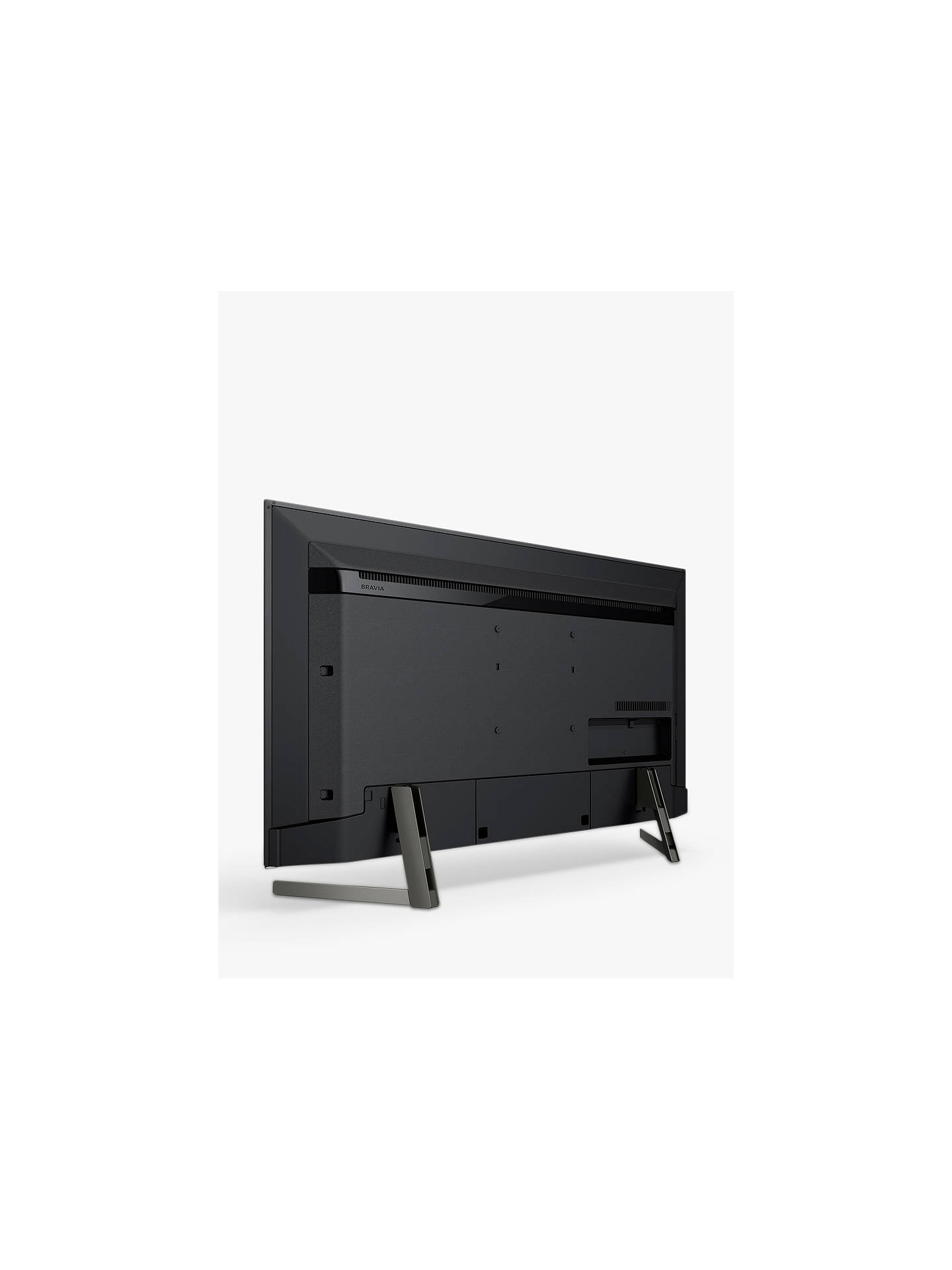 "Buy Sony Bravia KD49XG9005 (2019) LED HDR 4K Ultra HD Smart Android TV, 49"" with Freeview HD & Youview, Black Online at johnlewis.com"