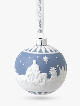 Wedgwood Nativity Bauble