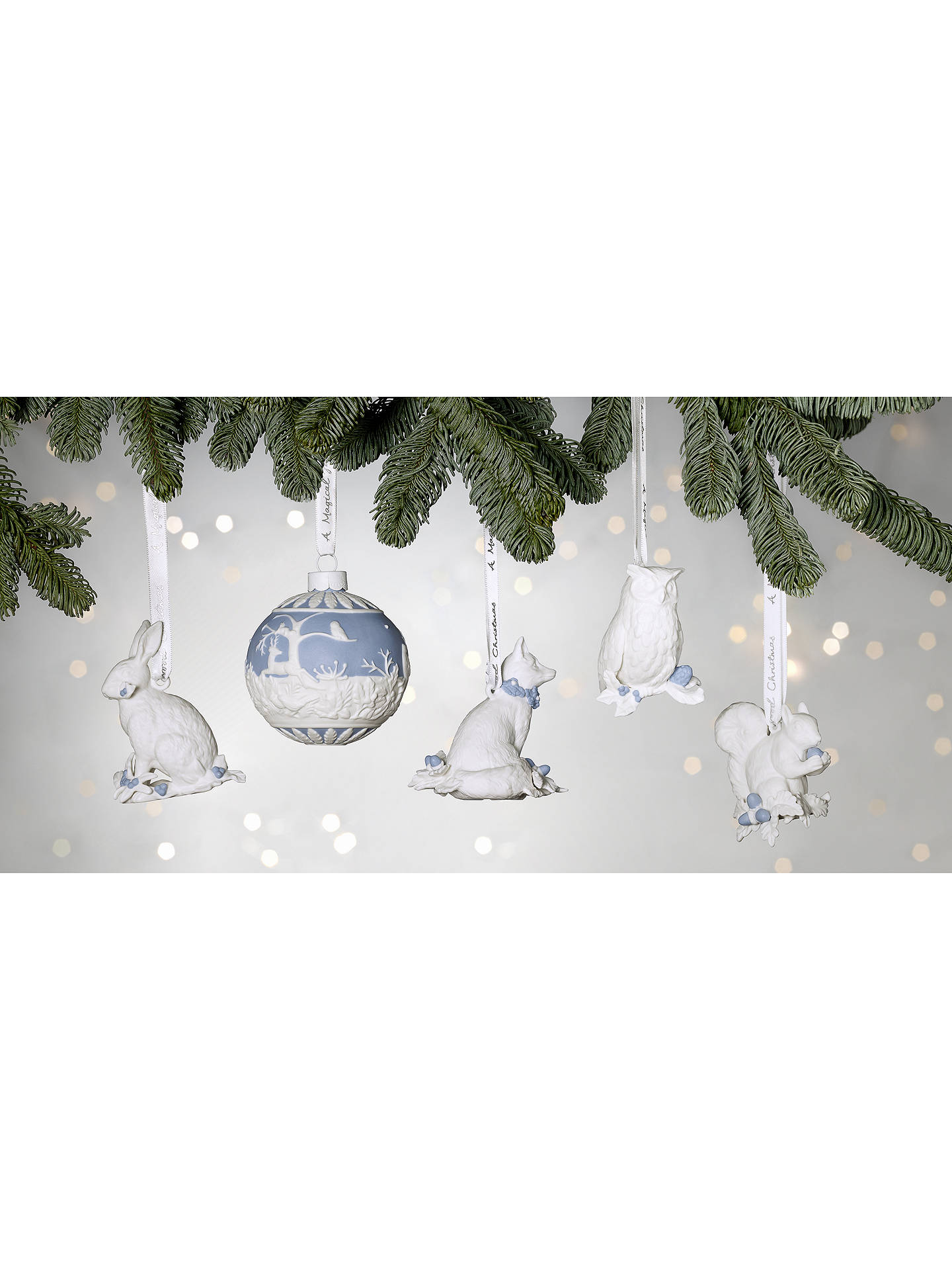 NEW WEDGWOOD 2019 CHRISTMAS WINTER WALK ORNAMENT