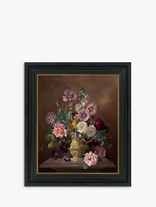 d41dffbd2c5d Still Life Of Flowers In Vase - Framed Canvas