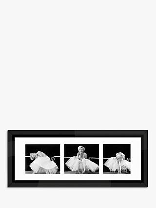 987c88fecf769 Marilyn Monroe - Ballerina Triptych Framed Prints & Mount, 43 x 105cm